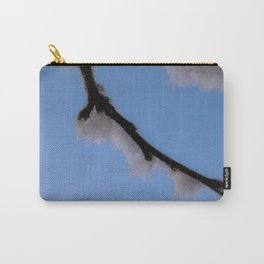 January Snow Frost Carry-All Pouch