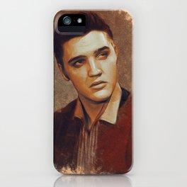 Elvis Presley Portrait iPhone Case