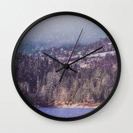 vintage landscape Wall Clock