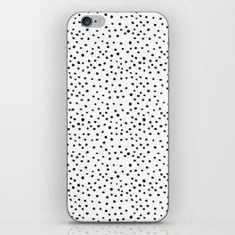 Brush Dots iPhone Skin