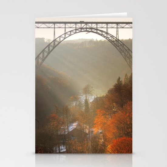 valley of light Stationery Cards