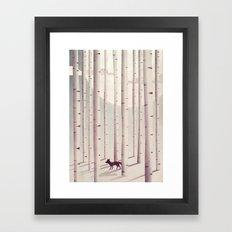 Serene Forest Framed Art Print