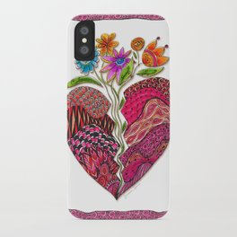Broken Heart iPhone Case