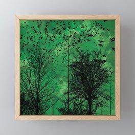 Turning Green Framed Mini Art Print