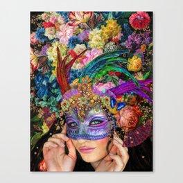 The Mascherari's Muse Canvas Print