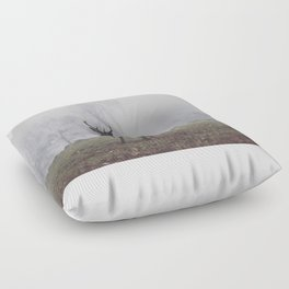 Foggy Richmond Park Floor Pillow