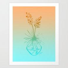 Cactus Yucca Southwest Desert Succulent Art Print