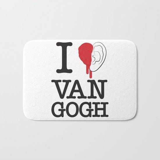 I love Van Gogh Bath Mat