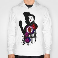 evil queen Hoodies featuring Shadows The Evil Queen by Mad42Sam