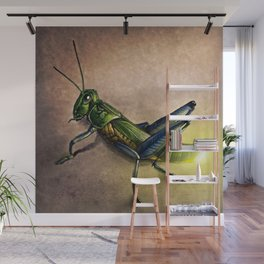 The Firefly and the Grasshopper Wall Mural