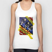 "police Tank Tops featuring ""Police Me"" by Matthew Z Kessler"