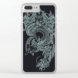 wayangan tnic art Clear iPhone Case