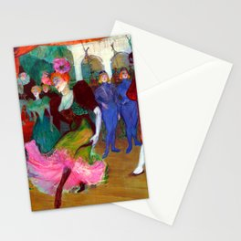 Toulouse Lautrec Marcelle Lender Dancing the Bolero Stationery Cards