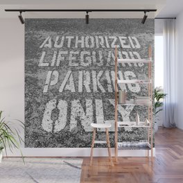 Parking for Life Wall Mural