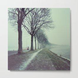 Winter convergence Metal Print