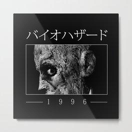 1996 Hazard collab with Demonigote Metal Print