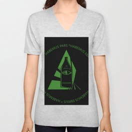 The all seeing caguama Unisex V-Neck