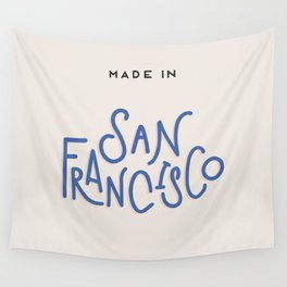 Made in San Francisco Wall Tapestry