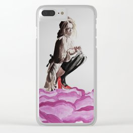 Bloom, babe. Clear iPhone Case