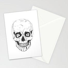 Skull Ink Stationery Cards