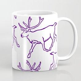 Reindeer Herd Coffee Mug