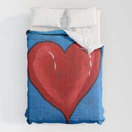 Graffiti Love Heart Comforters