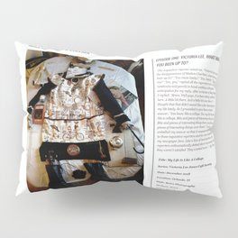 My Life Is Like A Collage / Art Stories Pillow Sham