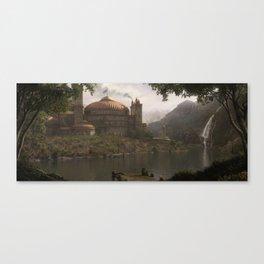 Elysium Landing Canvas Print