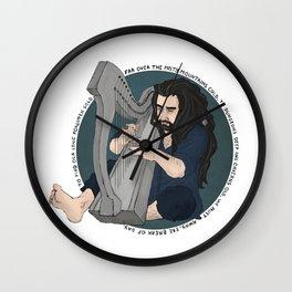 harpist Wall Clock