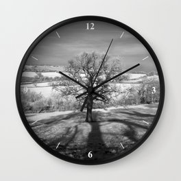 Lone tree over the East Somerset Railway Wall Clock