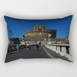 Castel Sant'Angelo, Rome, Italy Rectangular Pillow