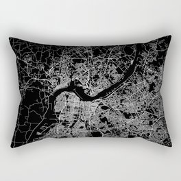 Louisville map Rectangular Pillow
