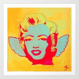 Little Angel Marilyn Art Print