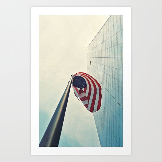 Tall America Art Print
