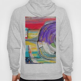 Abstract Summer Land Hoody