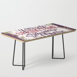 Brace yourself spring time sleepiness is coming Coffee Table