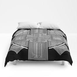 Clockwork Wheel Cross Comforters