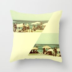 More summertime Throw Pillow