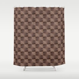 Bronze vintage rings Shower Curtain