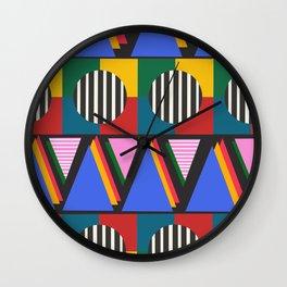 Love Triangle Circle 2 Wall Clock