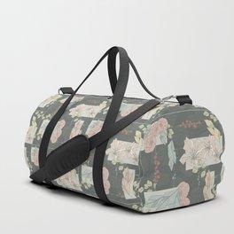 Flower Fracas Duffle Bag