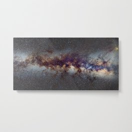 The Milky Way: from Scorpio, Antares and Sagitarius to Scutum and Cygnus Metal Print