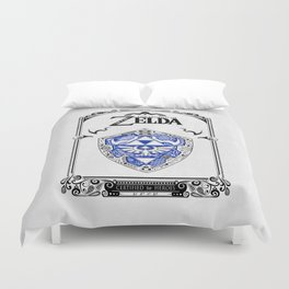 Zelda legend - Hylian shield Duvet Cover