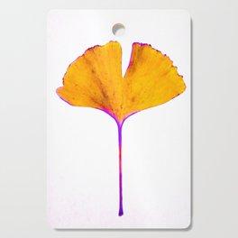 ginkgo biloba leaf Cutting Board