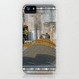 CONSTRUCTION SITE POKHARA NEPAL iPhone Case