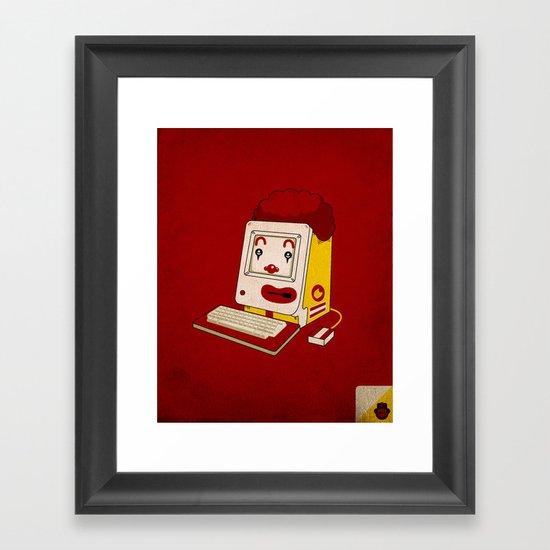"""""""MAC"""" Donalds Framed Art Print"""