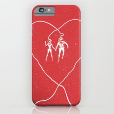 Love Space, Red iPhone 6s Slim Case