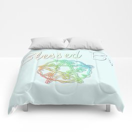 Blessed be with pentacle Comforters