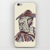 samurai iPhone & iPod Skins featuring Samurai  by Geek World