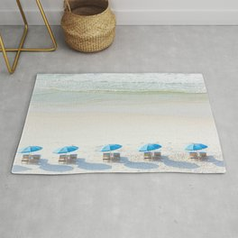 Mornings at the Beach Rug